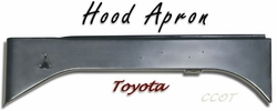 Apron Hood - Driver - Left Side - TOYOTA