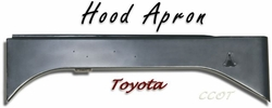 Apron Hood - Passngr - Right Side - TOYOTA