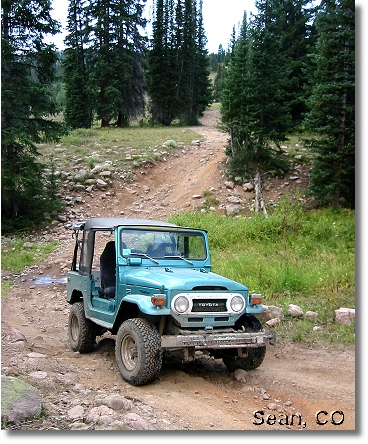 Sean of Steamboat, CO  w/ '75 FJ-40