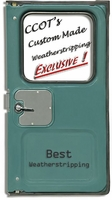 "Weatherstrip - Driver's Rear Ambulance Door - 75-84 - ""BEST"""