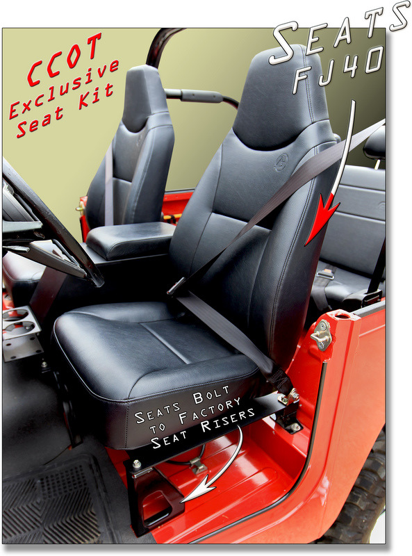 Exclusively At Ccot Fj40 Seat Conversion System