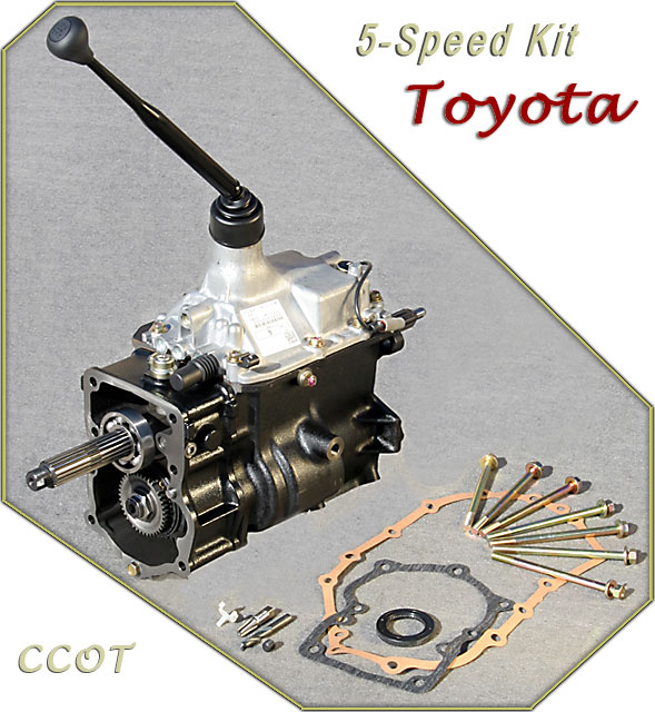 H55F - 5 Speed Transmission - Toyota