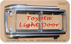Light Door Chrome - FJ62 Passngr's - '88- '90 -  TOYOTA