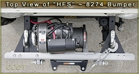 Top View of HFS?8274 Bumper