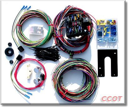 Fine Complete Wiring Harness Kit Wiring Digital Resources Bemuashebarightsorg