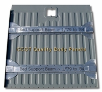 Bed Support Beams ~  1/'79 to '84