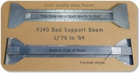 Bed Support Beam ~ 1ea. ~  1/'79 to '84