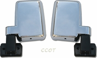 Mirrors - Chrome - Manual - Pair - FJ60/62 8/80-'90 - Aft Mrkt