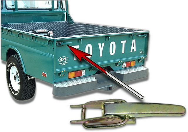 tailgate for use with soft top when rear doors are removed rh coolcruisers com Ford F-150 Tailgate Parts Diagram toyota 4runner tailgate wiring diagram