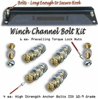 Winch Channel Bolt Kit - High-Strength