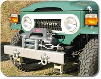 Bumper - HFS™ - Shackled  -  No Winch Plate