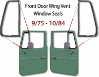 Door Wing Vent Glass Seal - 9/75 - 10/84 - Toyota