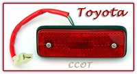 Light - Marker-  Red- Rear Qtr Pnl- 1ea-  8/80-90- TOYOTA