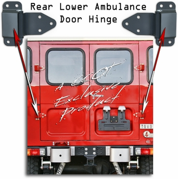 Hinge - Ambulance Door Lower Hinge