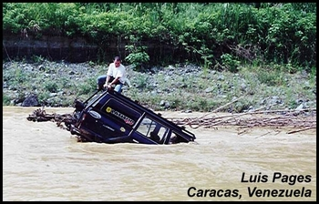 River too Deep to Cross, Luis Pages