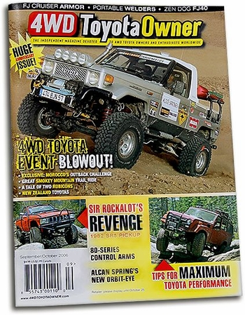 "Performance"" Article in ""4WD Toyota Owner"" Magazine "" title=""Performance"" Article in ""4WD Toyota Owner"" Magazine"