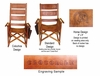 Costa Rica Rocking Chair - High Back - Pura Vida Design