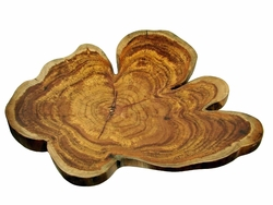 Costa Rica Exotic Teak Medium Plate