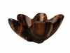Costa Rica Exotic Rosewood Flower Bowl