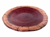 Costa Rica Exotic Purple Heart Large Plate