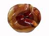 Costa Rica Exotic Rosewood Compartments Plate