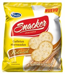 Jacks Snacker Natural Crackers Costa Rica