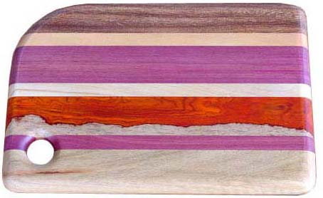 Cutting Board in Mixed Woods - 11""