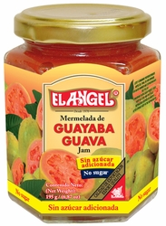 El Angel Guava Jam In Glass No Sugar Added Costa Rica