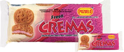 Pozuelo Cream Strawberry Cookies Costa Rica