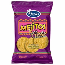Jacks Mejitos Fiesta Corn Chips Costa Rica