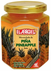 El Angel Pineapple Jam in Glass Costa Rica