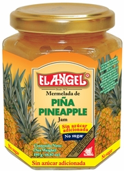 El Angel Pineapple Jam in Glass No Sugar Added Costa Rica