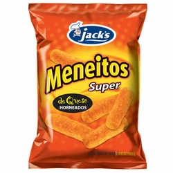 Jacks Meneitos Super Cheese Puffs Chips Costa Rica