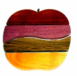 Costa Rica Wood Apple Trivet - Mixed Woods