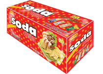 Pozuelo Soda Cookies Box Costa Rica