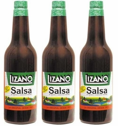 Large Salsa Lizano 700 ml (23 fl oz)(3 Pack)