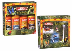 El Angel Hot Sauces in Rain Forest Box Costa Rica