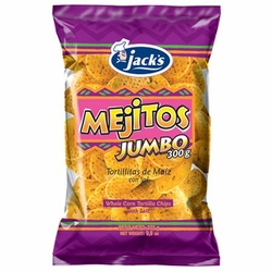 Jacks Mejitos Corn Chips Costa Rica