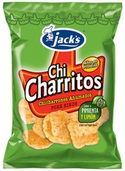 Jacks Chicharritos Lemon & Pepper Chips Costa Rica