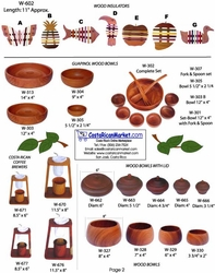 Catalog - Woodcrafts / Section 1