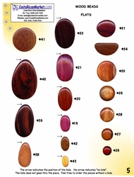 Catalog - Exotic Wood Beads