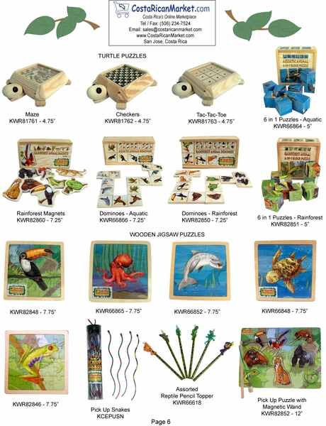 Wood Toys & Puzzles