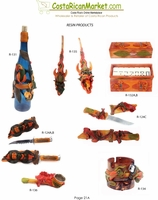 Resin Products from Costa Rica