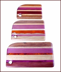 Wood  Cutting Boards Set