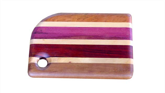 Cutting Board in Mixed Woods - 9""