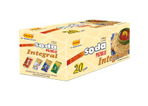 Pozuelo Soda Integral Cookies Box Cosa Rica