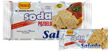 Pozuelo Soda Crackers With Salt Costa Rica