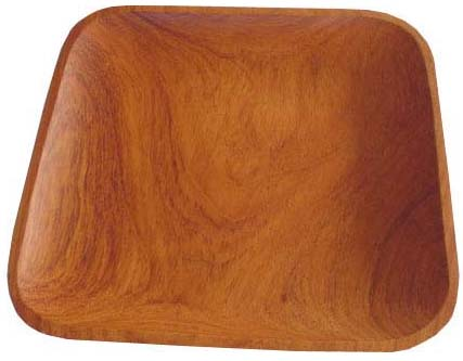 "Guapinol Wood Tray - 11"" x 11"""