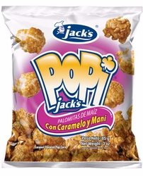 Jacks Popi Caramel Pop Corn Chips Costa Rica