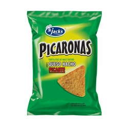 Jacks Picaronas  Nacho Cheese Hot Chips Costa Rica